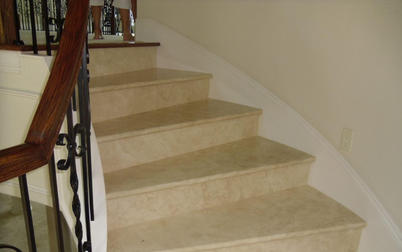 Travertine Stairs In Shalimar